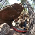 Bouldern in Albarracin