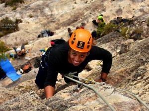 Bautismo de escalada en Siurana