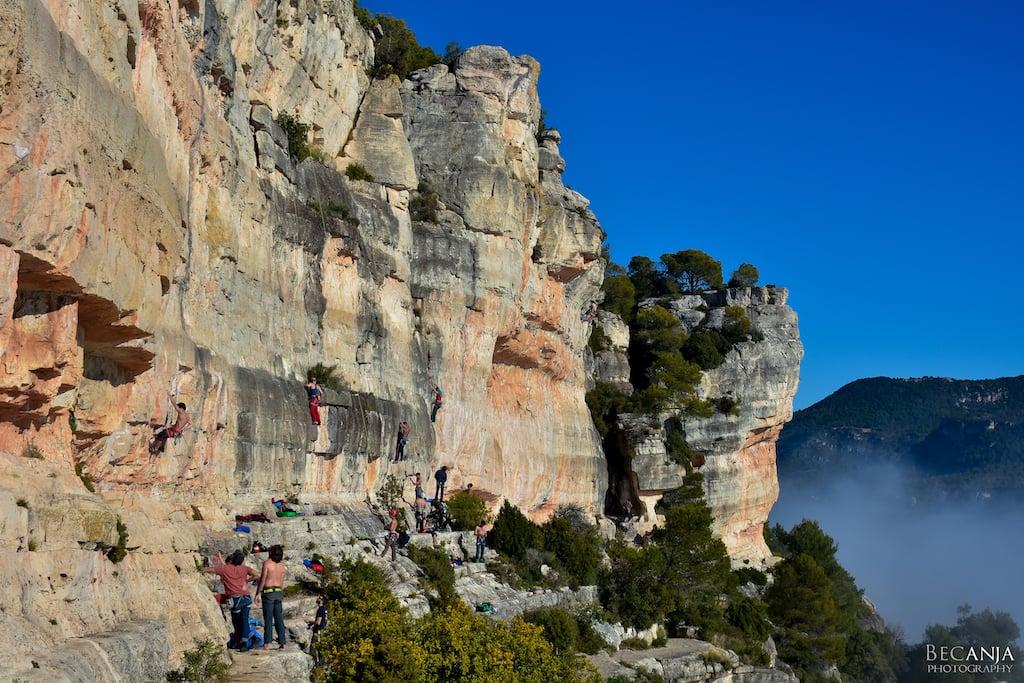 Kletterurlaub in Spanien