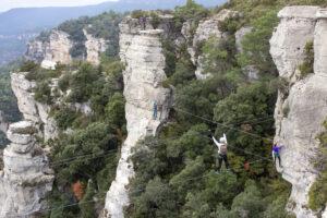 Vía ferrata dels Patacons- La Mussara